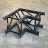 Tweedehands Eurotruss FD34-L90 truss vierkant 2-weg 90 graden zwart