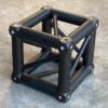 Tweedehands Eurotruss 34 truss vierkant boxcorner zwart