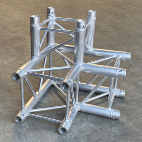 B-stock P34 truss vierkant P34-C012 3-weg 90 graden