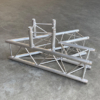 Tweedehands Prolyte E20V-C001 truss vierkant 45 graden 3-weg hoek