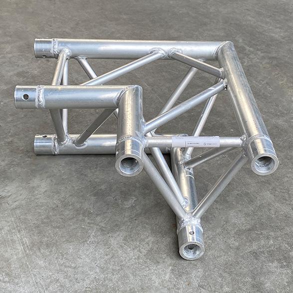 Tweedehands Eurotruss FD33-L90 truss driehoek 90 graden 2-weg hoek (compatible Megatruss)