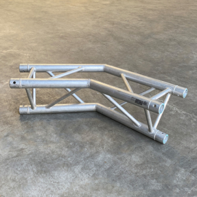 Tweedehands Eurotruss FD33-L135 truss driehoek 135 graden 2-weg hoek (compatible Megatruss)