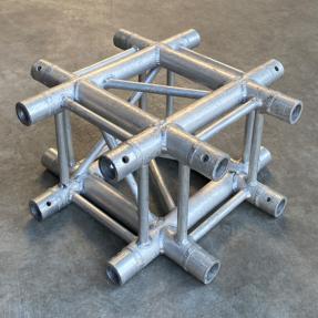 Tweedehands Eurotruss FD34-X truss vierkant 4-weg kruis 50x50 cm