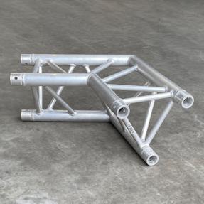 Tweedehands Global Truss F33 driehoek 110 graden 2-weg hoek (Expotruss compatible)