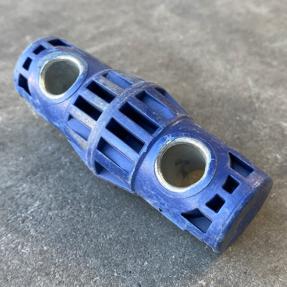 Tweedehands Prolyte truss CCS6-600H hybride koppeling donker blauw