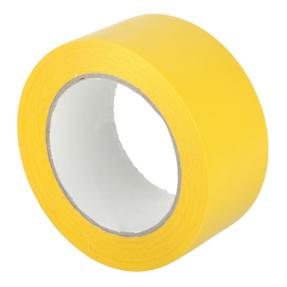 Showtec Vloermarkering tape UT8 33m rol 50 mm geel
