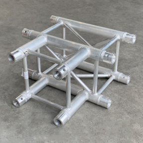 B-stock Eurotruss FD34-T truss vierkant 3-weg t-stuk 50x50 cm