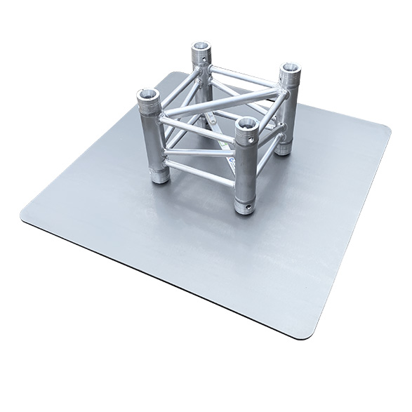 Universele truss baseplate staal 73 cm - 6mm dik