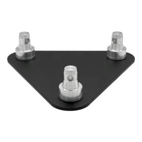 Baseplate voor Eurotruss FD33 driehoek truss met CS1-Scon25 zwart