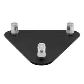 Baseplate voor Milos STB driehoek truss zwart