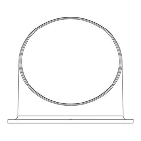 Showtec Glare Shield for Performer Profile Mini