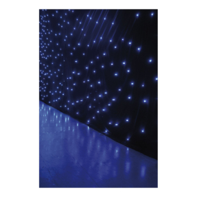 Showtec Star Dream witte LED - 3x6m met controller