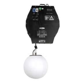 Showtec Illumilift RGBW 4m takel - 25 cm LED-bol
