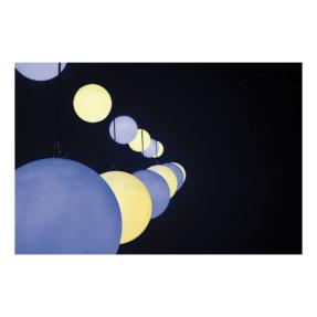 Showtec Illumilift RGBW LED Sphere - 35 cm LED-bol