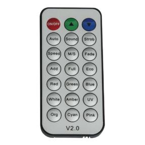 Showtec IR-afstandsbediening voor EventLITE 4/10 Q4