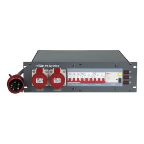 Showtec PS-3202 krachtstroomverdeler MKII - 19 inch 3HE