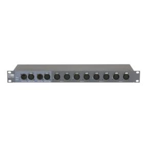 Showtec DB-1-4/RDM 4-kanaals DMX Booster met RDM 3- en 5-polige XLR