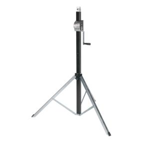 Showtec Basic 2800 Wind-Up statief 1,50 - 2,80m 80kg zwart