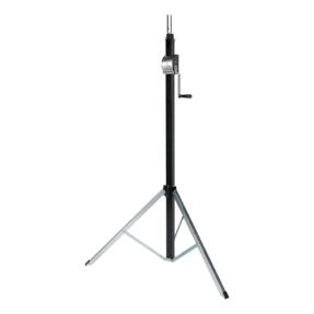 Showtec Basic 3800 Wind-Up statief 1,50 - 3,80m  80kg zwart
