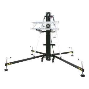 Showtec MAT-350 Line Array Tower 1,99 - 6,50 m 360kg zwart