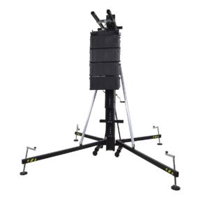Showtec MAT-500 Line Array Tower 1,99 - 6,50 m 500kg zwart