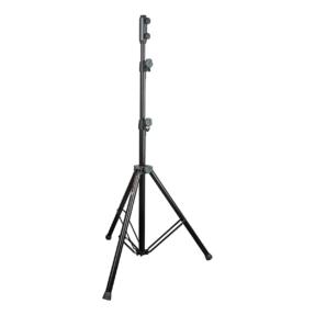 Lighting stand Alu including spigot adaptor