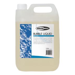 Showtec Bubble Liquid - bellenblaasvloeistof 5L gebruiksklaar