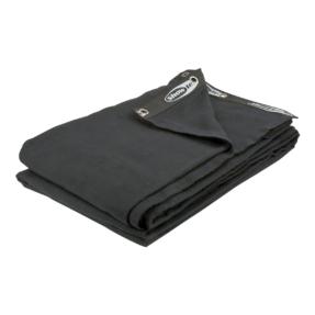 Showtec Backdrop 300 gram/m² 3m (b) x 4,5m (h) zwart