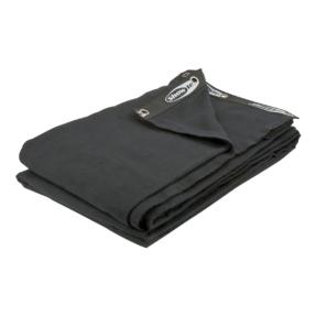 Showtec Backdrop 300 gram/m² 3m (b) x 6m (h) zwart