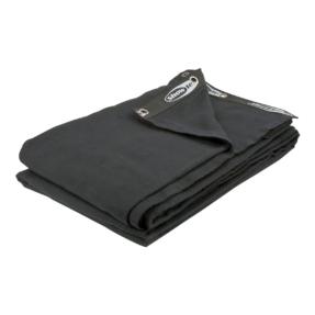Showtec Backdrop 300 gram/m² 6m (b) x 6m (h) zwart