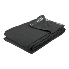 Showtec Backdrop 300 gram/m² 3m (b) x 9m (h) zwart