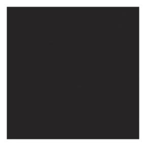 Showtec Dekomolton 3m (H), 60 m rol, zwart