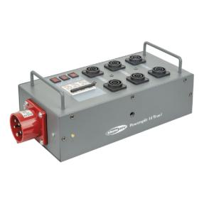 Showtec Powersplit 16 krachtstroomverdeler CEE 16A naar 6x ProPower True1