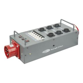 Showtec Powersplit 32 krachtstroomverdeler CEE 32A naar 6x ProPower True1