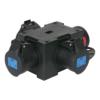 PCE Powersplit 4 krachtstroomverdeler CEE 16A naar 3x CEE 16A 3-pin