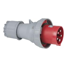 PCE CEE 125A 400V 5p Plug Male Rood, IP67