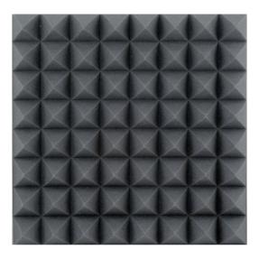 DAP ASM-03 Akoestisch schuimrubber zwart 10 cm