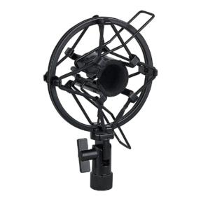 DAP Microphone holder 22-24 mm zwarte anti-schok-montage