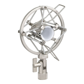 DAP Microphone holder 22-24 mm grijze anti-schok-montage