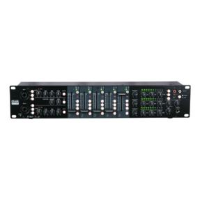 DAP IMIX-7.3 Mixer 7 kanalen - 19 inch 2HE