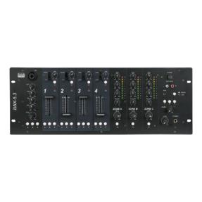 DAP IMIX-5.3 Zone-mixer 5 kanalen - 19 inch 4HE