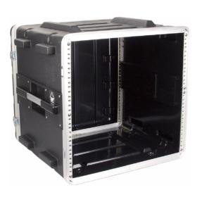 DAP ABS kunststof Rackcase 19 inch - 10HE