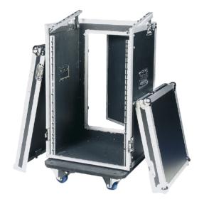 DAP 19 inch Combi flightcase 16HE + 10HE