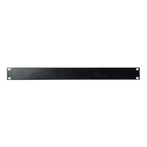 DAP 19 inch Blindpanel Black 1U