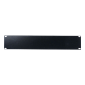 DAP 19 inch Blindpanel Black 2U