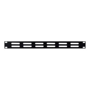 DAP 19 inch Ventilationpanel Black 1U