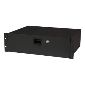 DAP 19 Inch Drawer with keylock 3U (483 x 350 x 132 mm, LxBxH) / 7,7 kg