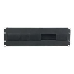 """DAP Switch Box 19"""" met DIN-rail 3HE"""