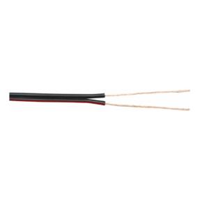 DAP SPE-275 LSHF Speakerkabel 2x 0,75 mm2 - 100m zwart