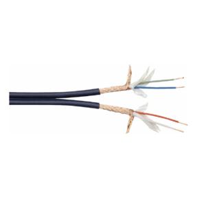 DAP MCD-224 Dubbele Line-kabel - 100m zwart